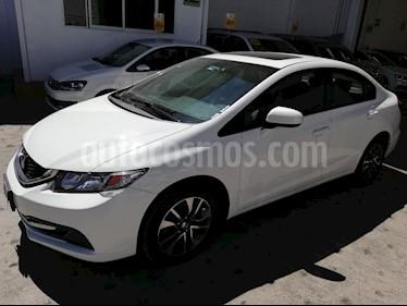 Foto venta Auto usado Honda Civic EX Aut (2015) color Blanco precio $180,000