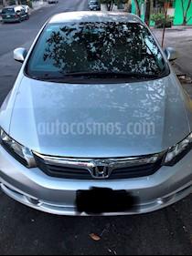 Foto venta Auto usado Honda Civic EX Aut (2012) color Plata precio $158,000