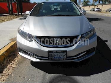 Foto venta Auto Seminuevo Honda Civic EX Aut (2015) color Plata precio $225,000