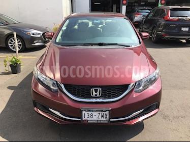 Foto Honda Civic EX usado (2014) color Rojo Camelia precio $188,000