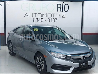 foto Honda Civic EX usado (2016) color Plata precio $267,000