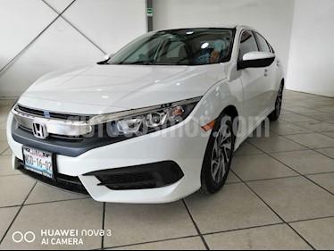 Foto venta Auto usado Honda Civic EX (2018) color Blanco Marfil precio $280,000