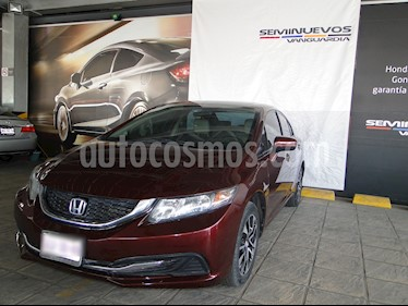 Foto venta Auto usado Honda Civic EXL 1.8L Aut NAVI (2014) color Rojo precio $210,000