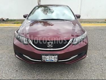 Foto venta Auto usado Honda Civic EXL 1.8L Aut NAVI (2015) color Rojo Camelia precio $225,000
