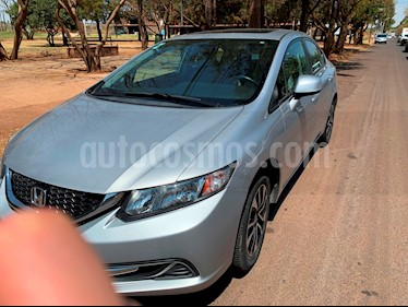 Foto venta Auto usado Honda Civic EXL 1.8L Aut NAVI (2013) color Plata Diamante precio $180,000