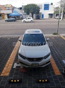 Foto Honda Civic EXL 1.8L Aut NAVI usado (2015) color Blanco precio $215,000