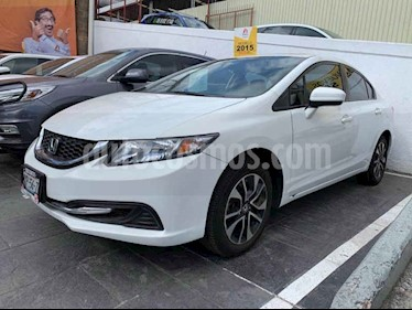 Foto Honda Civic EXL 1.8L Aut NAVI usado (2015) color Blanco precio $225,000