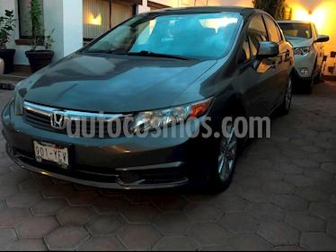 Honda Civic EXL 1.8L Aut usado (2012) color Tungsteno precio $180,000