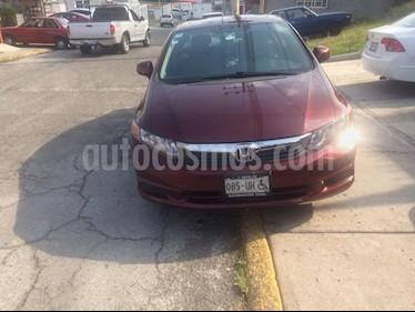 Foto Honda Civic EXL 1.8L Aut usado (2012) color Rojo Granada precio $145,000