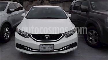 Foto Honda Civic EXL 1.8L Aut usado (2013) color Blanco Marfil precio $180,000