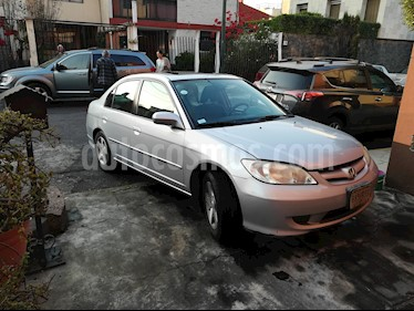 Honda Civic EXL 1.8L Aut usado (2004) color Plata precio $65,000