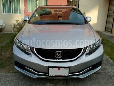 Foto venta Auto Seminuevo Honda Civic EXL 1.8L Aut (2013) color Plata Diamante precio $189,000