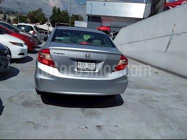 Foto Honda Civic EXL 1.8L Aut usado (2012) color Blanco precio $140,000