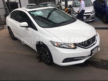 Foto venta Auto Seminuevo Honda Civic EXL 1.8L (2014) color Blanco precio $189,000