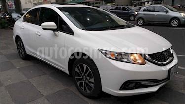 Foto venta Auto usado Honda Civic EXL 1.8L (2015) color Blanco precio $233,000
