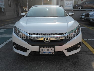 Foto venta Auto usado Honda Civic i-Style Aut (2018) color Blanco Candy precio $355,000