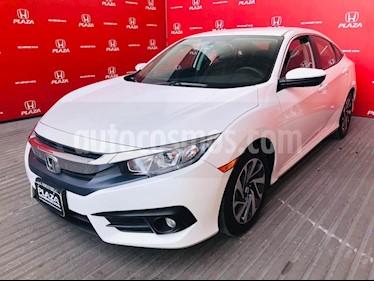 Foto venta Auto usado Honda Civic i-Style Aut (2018) color Blanco precio $338,900