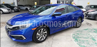 Foto venta Auto usado Honda Civic i-Style Aut (2019) color Azul precio $339,000