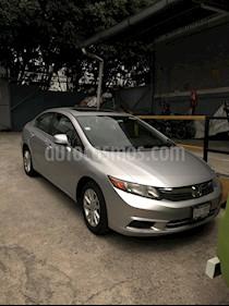 Honda Civic LX 1.7L Aut usado (2012) color Gris precio $136,000