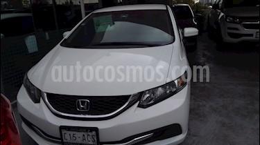 Foto Honda Civic LX 1.7L Aut usado (2015) color Blanco precio $180,000