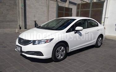 Foto venta Auto usado Honda Civic LX 1.7L (2014) color Blanco precio $180,000