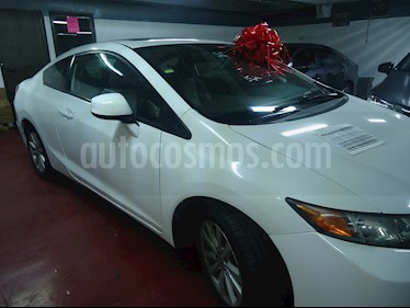 Foto venta Auto usado Honda Civic LX 1.8L Aut (2015) color Blanco Marfil precio $210,000
