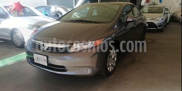Foto venta Auto usado Honda Civic LX 1.8L Aut (2012) color Cafe precio $165,000
