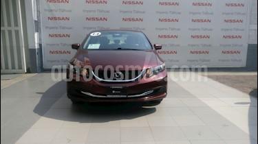 Foto venta Auto Seminuevo Honda Civic LX 1.8L Aut (2014) color Rojo Camelia precio $170,000