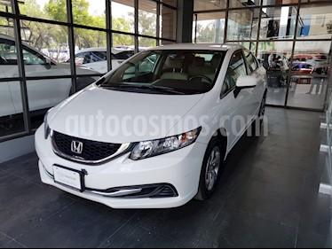 Foto venta Auto usado Honda Civic LX 1.8L Aut (2015) color Blanco Marfil precio $181,000