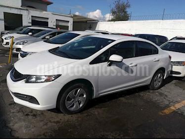 foto Honda Civic LX 1.8L usado (2014) color Blanco precio $160,000