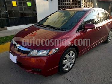 Foto venta Auto usado Honda Civic LX 1.8L (2009) color Rojo Granada precio $107,000