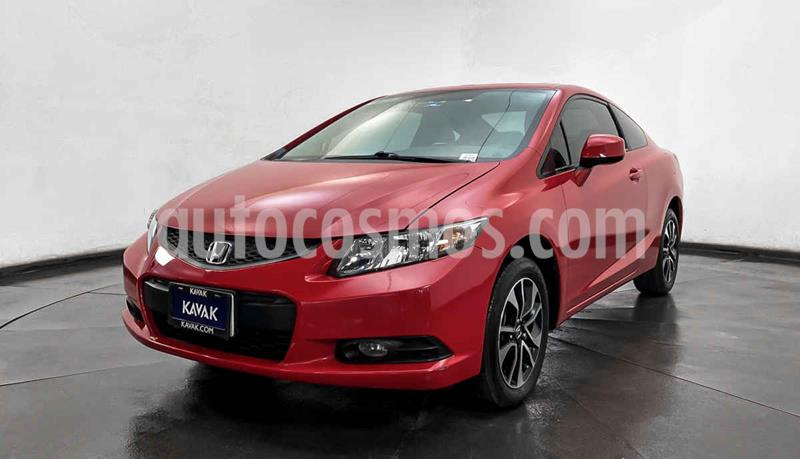Honda Civic Coupe EX 1.8L usado (2013) color Rojo precio $174,999