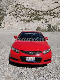 Honda Civic Coupe EX 1.8L usado (2013) color Rojo precio $140,000