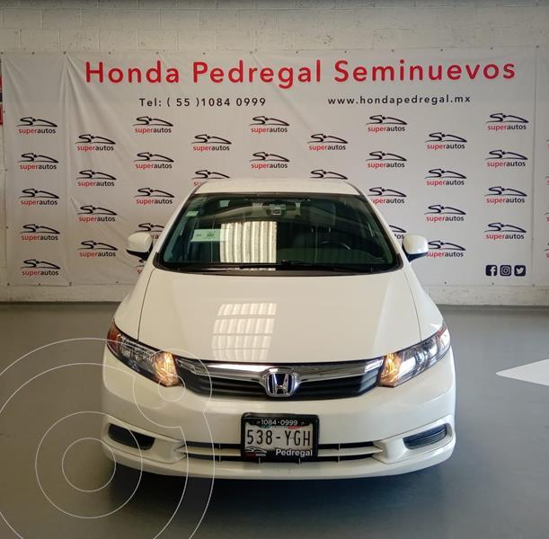 Honda Civic EX 1.8L usado (2012) color Blanco precio $149,000