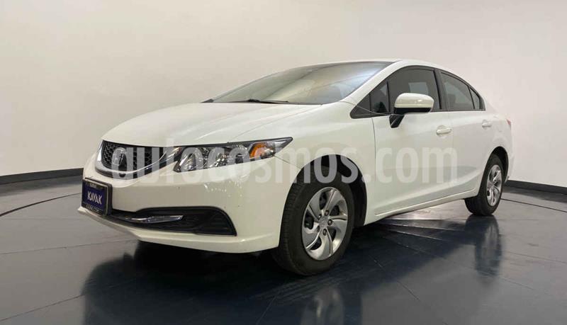 Honda Civic LX 1.8L Aut usado (2015) color Blanco precio $204,999