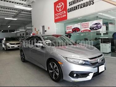 Foto Honda Civic 4p Touring L4/1.5/T Aut usado (2018) color Plata precio $360,000