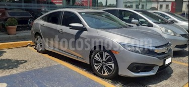 Honda Civic 4P TURBO PLUS SEDAN CVT 1.5T 174 HP PIEL QC F. NI usado (2018) color Plata precio $353,000