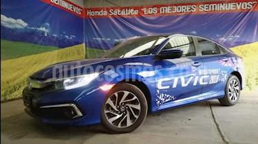 Honda Civic 4P I STYLE CVT 2.0L 158 HP F. NIEBLA RA-16 usado (2019) color Azul precio $360,905