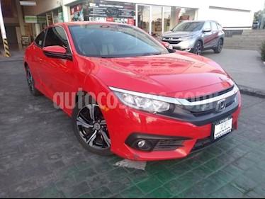 Honda Civic 2P COUPE TURBO CVT 1.5T 174 HP QC RA-17 usado (2016) color Rojo precio $279,000