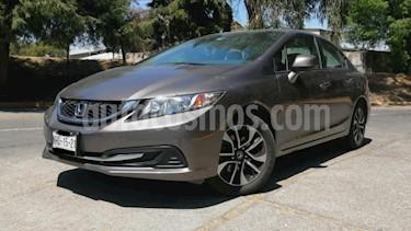 Honda Civic 4P EXL SEDAN TA QC PANTALLA PIEL RA-16 usado (2013) color Gris precio $183,000