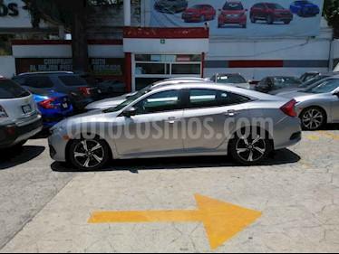 Honda Civic 4 pts. Touring usado (2018) color Plata precio $360,276