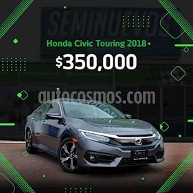 Honda Civic Touring Aut usado (2018) color Acero precio $350,000