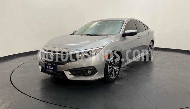 Honda Civic Coupe EX 1.8L Aut usado (2015) color Plata precio $269,999