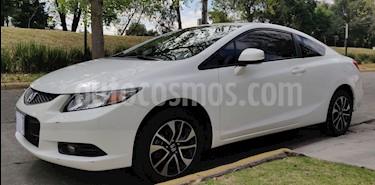 Honda Civic Coupe EX 1.8L usado (2013) color Blanco precio $160,000