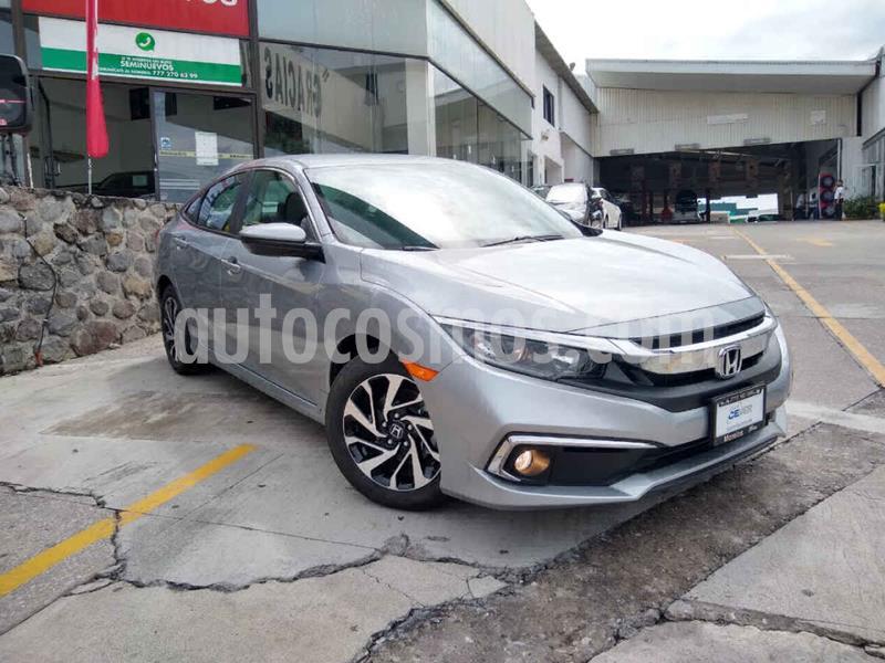 Honda Civic i-Style Aut usado (2019) color Plata precio $365,000