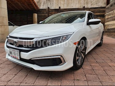 Honda Civic EX usado (2019) color Blanco precio $305,000
