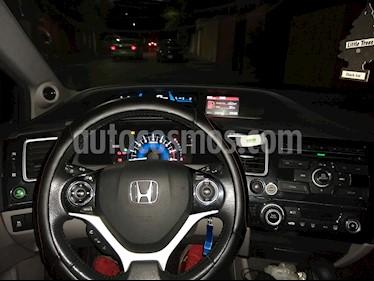 Honda Civic EXL 1.8L Aut usado (2013) color Gris precio $175,000