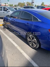 Honda Civic Turbo Plus Aut usado (2017) color Azul precio $295,000