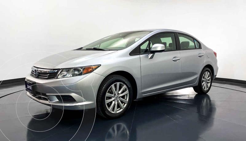Honda Civic EX 1.8L Aut usado (2012) color Plata precio $149,999