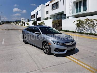 Honda Civic Turbo Plus Aut usado (2016) color Acero precio $115,000